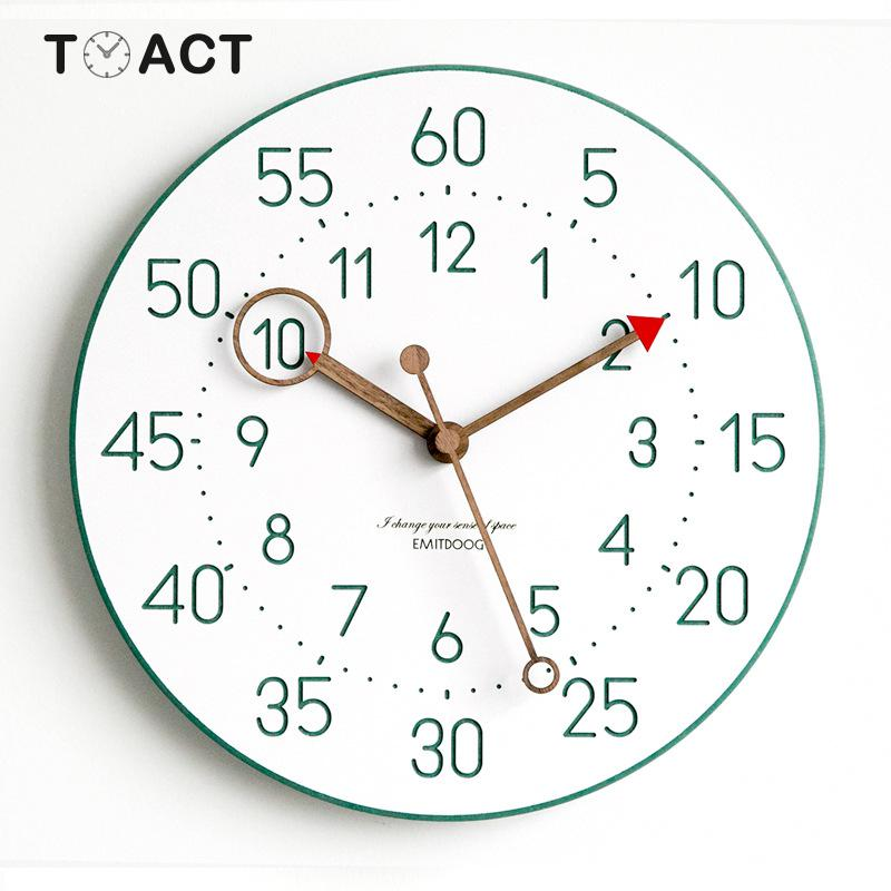 Nordic Clock For Living Room Personality Fashion Wall Clocks Modern Design Minimalist Quartz Home Decor Wall Watches