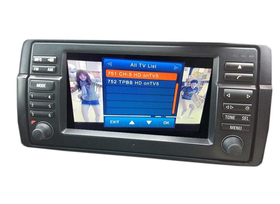 DVB-T2 Digital TV For BMW E38 E39 E46 X5 E53