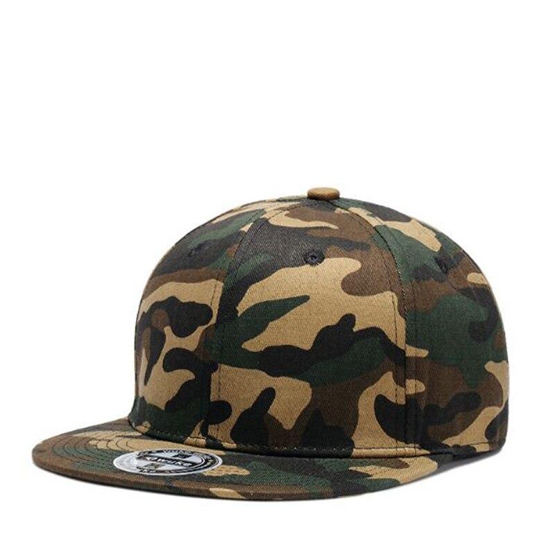 Discreto Europa America Trend Camouflage Hip Hop Caps Primavera Estate Cotone Moda Per Gli Uomini Di Marca Berretto Con Visiera Casquette Grande Assortimento