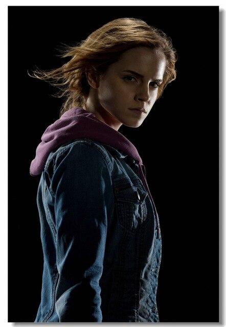 Personnalisé toile sticker mural Harry Potter affiche Emma