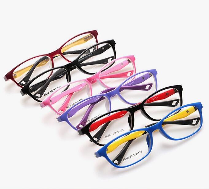 4d5935bdef 180 Spring TR Optical Eyeglasses Kids Children Light Glasses Frames Boys  For Girls TR90 Myopia Amblyopia Optical Frames 8810-in Eyewear Frames from  Apparel ...