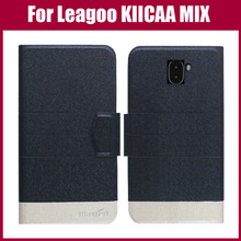 Leagoo kiicaa Mix чехол Новое поступление 5 цветов модные ультра-тонкий кожаный защитный чехол для leagoo kiicaa Mix чехол