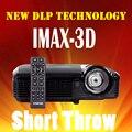Ultra Short Throw Proyector DLP 7500 lúmenes lámpara UHP Proyector Full HD Proyectores TV 3D Inteligente Portátil 3D 1080 P Android Bluetooth