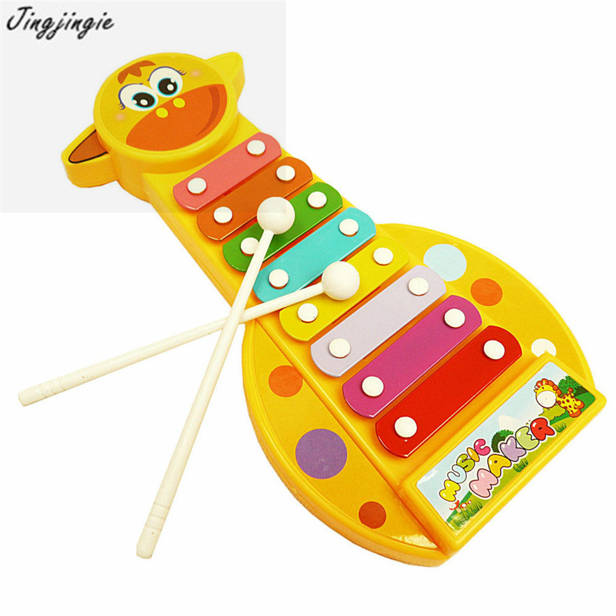 Fashion Kid Baby Musical Instrument 8 Note font b Toy b font Wisdom Development Free Shipping