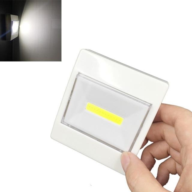 Le Pour Sans Nuit Capteur Voie Led Lampe Placard Allume Par 3 Contact Batterie De Portative Garage Alimentée D'escalier La Fil Mur VpSGUqMz