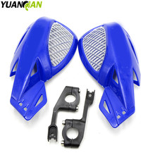 5 colors optional motorcycle brush bar hand guards blue handguards ABS motorbike handle for honda yamaha kawasaki ktm 144