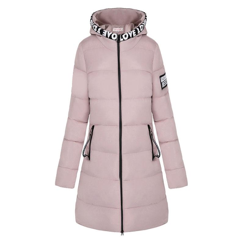 2017 New Winter Jacket Women Hooded Thicken Coat Female fashion Warm Outwear Down Cotton-Padded Long Wadded Jacket Coat Parka цена и фото