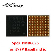 AliSunny 5 قطعة PMB6826 6826 ل فون 7 7 زائد القاعدي الطاقة PMIC ic رقاقة إنتل BBPMU_RF استبدال أجزاء