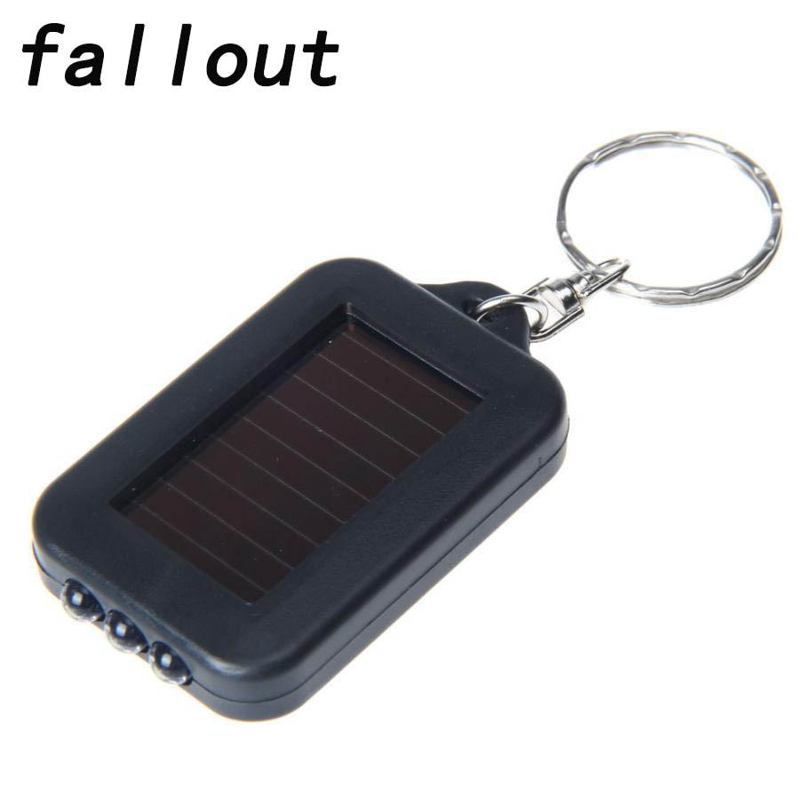 Fallout Super Mini Light LED FlashLight Key Ring Torch 3 LED Portable  Keychain Lamp
