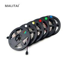 5 м или 10 м/упак. 2835 SMD более яркий, чем 3528 5050 SMD светодиодный светильник 12 В постоянного тока 60 Светодиодный s/M Внутренняя декоративная лента белый синий красный