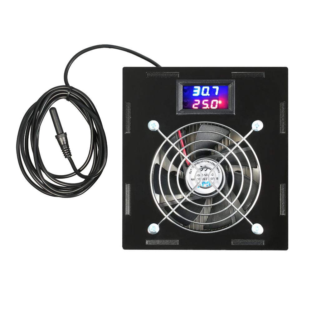 Aquarium Thermostat Chiller Thermoregulator Temperature Control 70W Fish Tank Salt Or Fresh Water With Temperature Controller ac 250v 20a normal close 60c temperature control switch bimetal thermostat