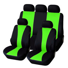 Free Shipping! Car Seat Covers Universal Polyester With Comp
