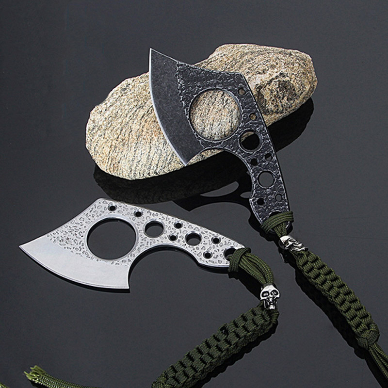 CHACHEKA Ultralight Portable Pocket Axe Stainless Steel Outdoor EDC Rescue Survival Tools Knife Hunting Camping Ax image