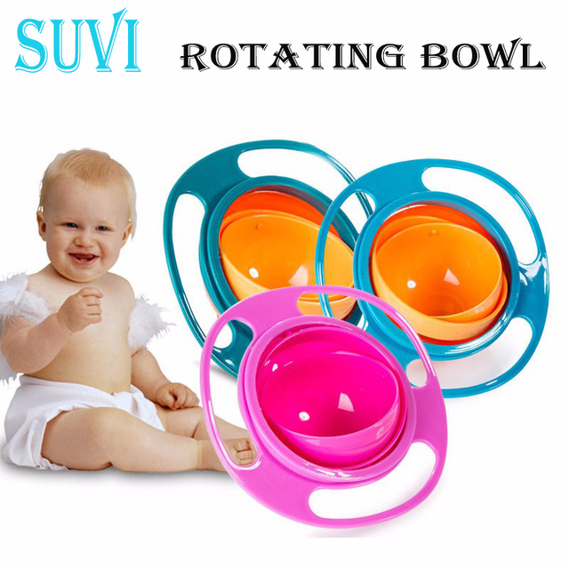 360 Rotate Toddlers Plate for Children Tableware Kids Soup Rotating Bowl Spill Feeding Snack Cup Small  sc 1 st  AliExpress.com & 360 Rotate Toddlers Plate for Children Tableware Kids Soup Rotating ...
