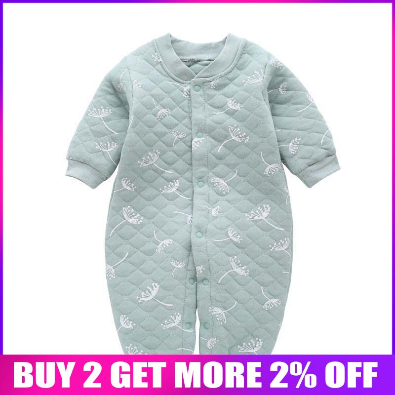 860098052033 Recién Nacido bebé niñas niños cálidos pantalones de invierno otoño niño  grueso mono jumpsuits para bebe infantil cálida trajes ropa de bebé