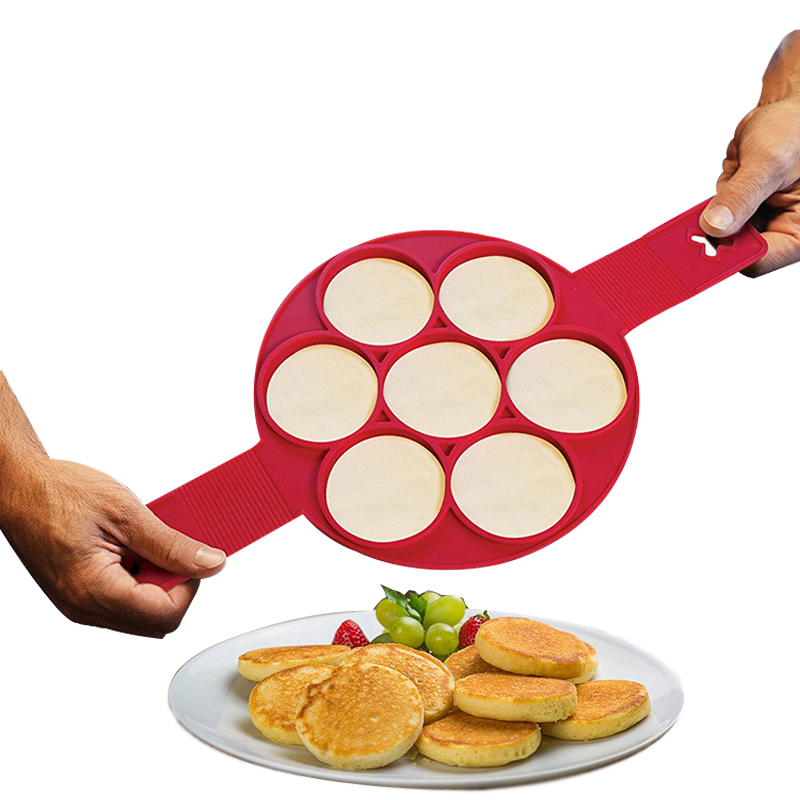 Non Stick Pancake Pan Flip Perfect Pancakes Breakfast