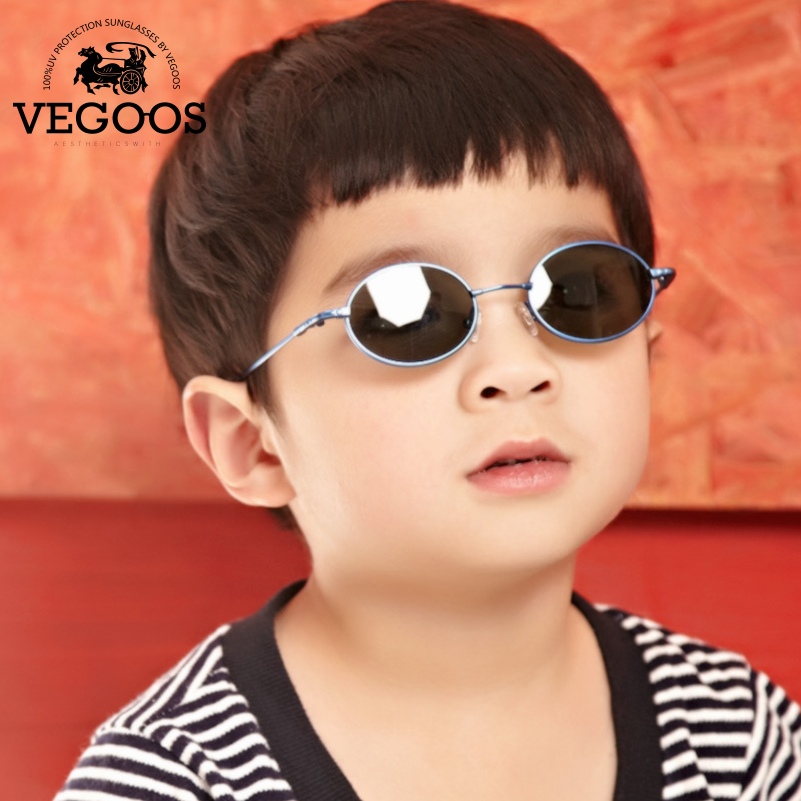 Vegoos Children Sunglasses Round Boy's  TAC Material Polarized Sun Glasses Professional Anti-UV Protection Eyes M6103# dressuup baby boys girls kids sunglasses vintage round sun glasses children arrow glass 100%uv protection oculos de sol gafas