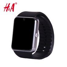 Soporte de tarjeta sim reloj inteligente reloj de sincronización gt08 notificador conectividad bluetooth para apple iphone teléfono android smartwatch