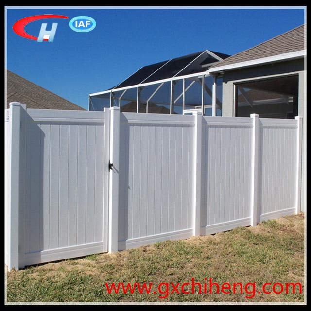 Cheap Wholesale Pvc Privacy Fence Panel Garden Fencing Vinyl