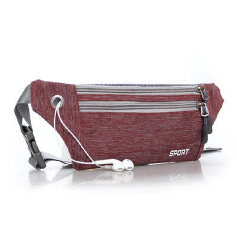 Bloso Kiple Waist Pack For Men Women Fanny Pack Bum Bag Hip Money Belt Travelling Mountaineering Mobile Phone Bag