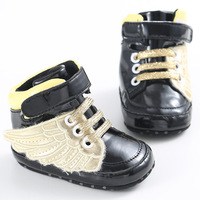 Cool Baby Toddler Wings Shoes Infant Boys Girls Shoes Pink Black Girl Boy Chaussures Bebes Crib