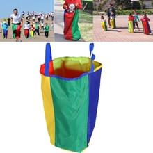 Кенгуру мешок для прыжков на открытом воздухе мешок для прыжков мешок картошки гонки, гоночный детская сенсорная интеграция тренировка баланса активности, Лидер продаж