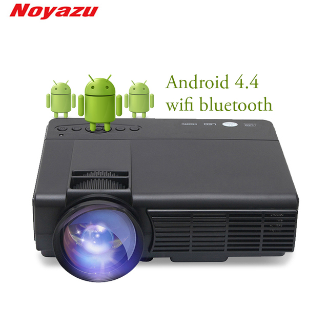 Big Sale Noyazu Q5 1800 Lumens Mini LED Projector For TV Home Theater Support Full HD 1080p Video Media player HDMI LCD 3D Beamer