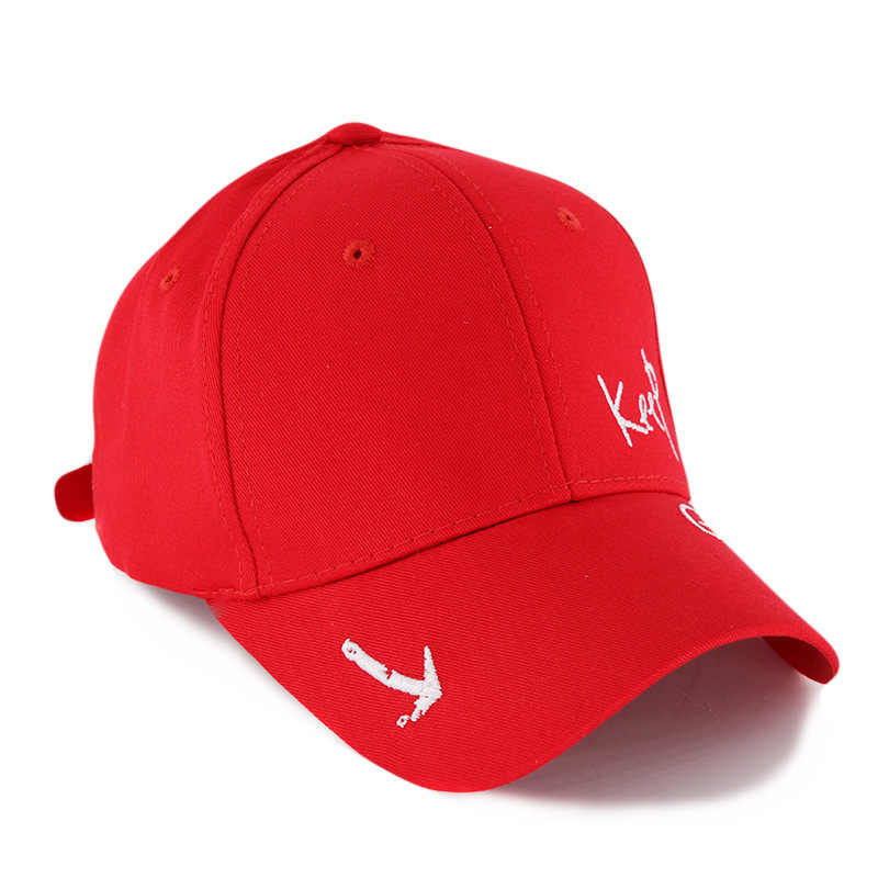Miaoxi Новая модная женская летняя Регулируемая Повседневная Бейсболка для взрослых красная шляпа с буквенным принтом s для мужчин хлопок Snapback Хип Хоп шляпа