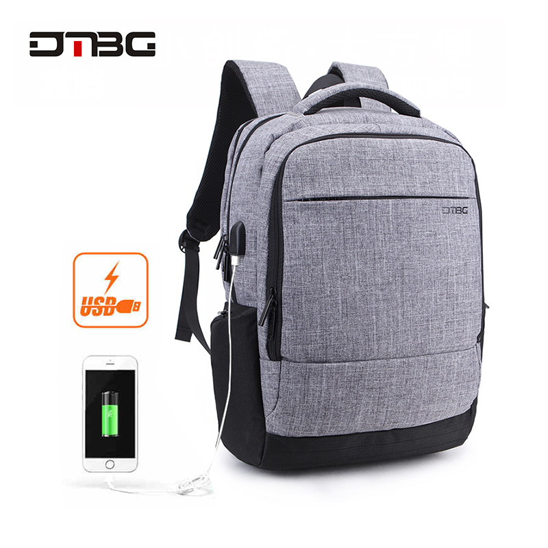 DTBG 17.3 Smart Laptop Backpack Solid Soft Back Large Capacity Bag Pack Waterproof Mochilas Men Women Anti Theft Bags Rucksack