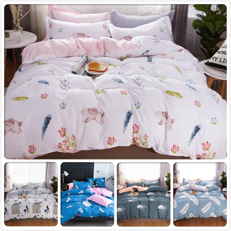 Power Source Helpful Europe Concise Bedding Set 3pcs 4pcs Bedclothes Kids Child Cotton Soft Bedlinens Single Twin Full Queen King Size Duvet Cover 2m