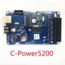 Люмен C-Power5200 u-диск версия порта RGB открытый и закрытый полноцветный контроллер резервного заряда с led-дисплеем