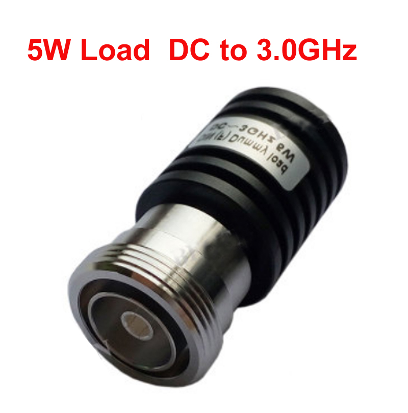 telecom RF load 5W dc-3ghz cable feeder 7/16 din female RF COAXIAL cable jack 5W connector cable load communication converter
