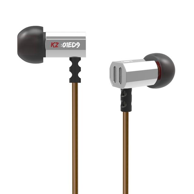 New Arrival Original KZ ED9 3.5mm in ear Earphones Heavy Bass HIFI DJ Stereo Earplug Noise Isolating With Mic Headset E57