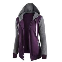 Autumn Hoodie Women Sweatshirt Long Sleeve Pocket Loose Shirt Top Tracskuit Women Hoodies Sweatshirts WS952U