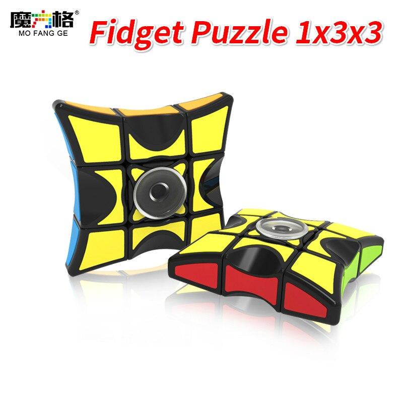 Mofangge 1x3x3Layer Enigma Magic Cube Qiyi Fidget Brinquedos Educativos Para Crianças Coleção de Mão Giratório