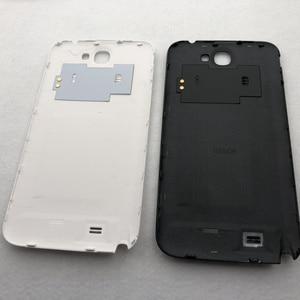 Image 5 - Pour Samsung Galaxy Note 2 II N7100 N7105 boîtier complet couvercle de batterie cadre moyen note2 SM N7100 7100 couverture arrière