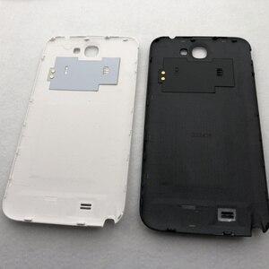 Image 5 - Samsung Galaxy Not 2 II için N7100 N7105 Tam Konut Case Pil Kapağı Orta Çerçeve note2 SM N7100 7100 arka kapak