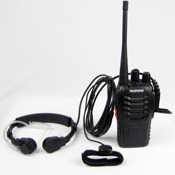 motorola walkie talkie earpiece. police security surveillance stretch extend throat mic earpiece headset microphone for motorola walkie talkie ham cb