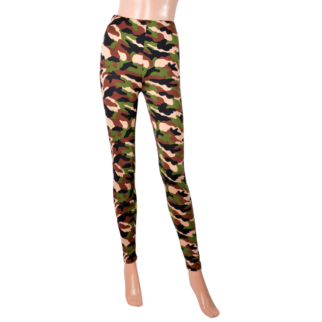 Slimming Camouflage Leggings
