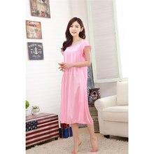 6050a3df2 2018 Verão Roupas Plus Size Nighties Lingerie Sexy Sono Homewear Mulheres  Camisola De Seda Sleepshirts Sleepwear