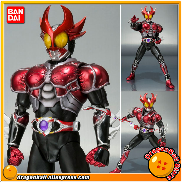 Japan Kamen Masked Rider Original BANDAI Tamashii Nations SHF / S.H.Figuarts Toy Action Figure - Agito (Burning Form)