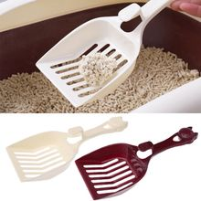 Прочный пластиковый инструмент для чистки домашних животных, собак, кошек, щенков, котят, подстилка, совок, уютный песочный совок, совок, лопата, продукт для домашних животных