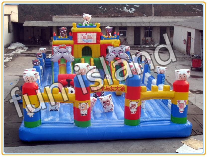 Cartoon Inflatable Jumping Castle/Inflatable Jumping House/Inflatable Bounce House used inflatable bounce castle jumping water slide for sale