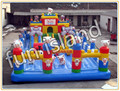 De dibujos animados inflable castillo inflable / casa salto inflable / inflable casa de la despedida
