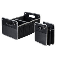 1x Car Styling Trunk Foldable Capacity Vehicle Storage Box For Ford focus 2 3 fiesta ranger kuga Focus mk2 mk3 fusion mondeo mk4
