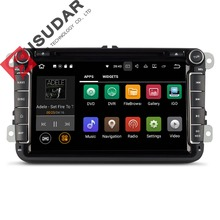 Android 7.1  8 Inch Car DVD Player For VW/Volkswagen/POLO/PASSAT/Golf/TOURAN/SHARAN Quad Core Wifi 3G USB GPS Navigation Radio
