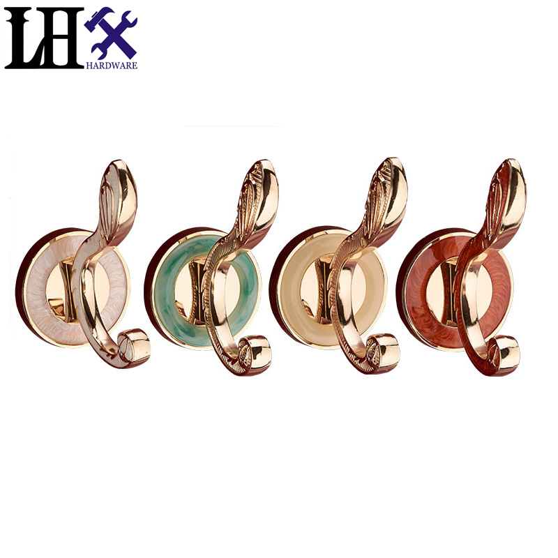 LHX B Brand New Ceramics Hook Vintage Wall Hat Coat Clothes Towel Robe Bath Wall Door Hanger Hooks Zinc Alloy For Home Decor s style multifunctional camping lantern lamp hook backpack clothes bath bag hanger for outdoor home use