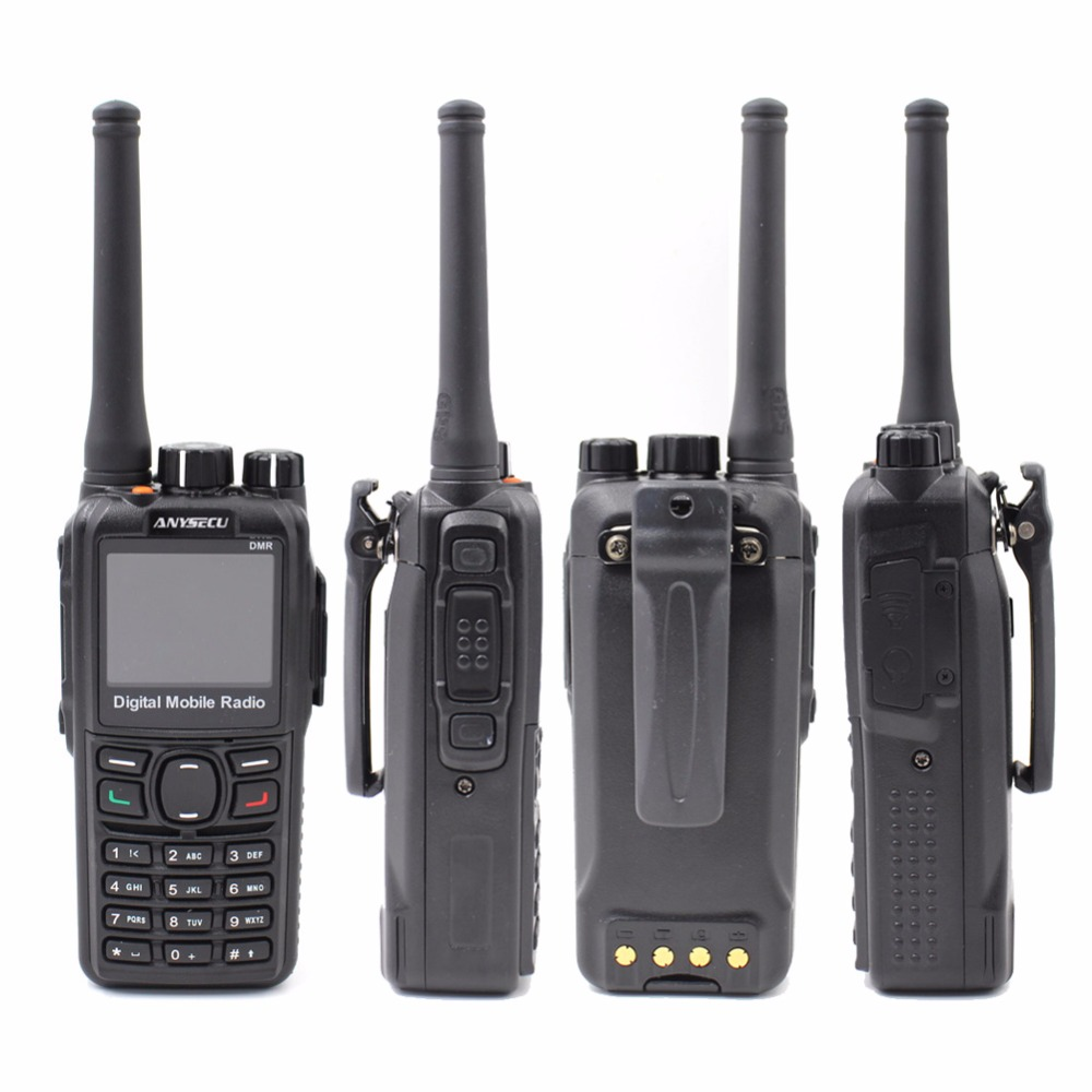 Image 4 - Anysecu DM 960 DMR Digital Radio VHF 136 174MHz or UHF 400 480MHz Walkie Talkie Compatible with MOTOTRBO Two Way Radio DM960-in Walkie Talkie from Cellphones & Telecommunications