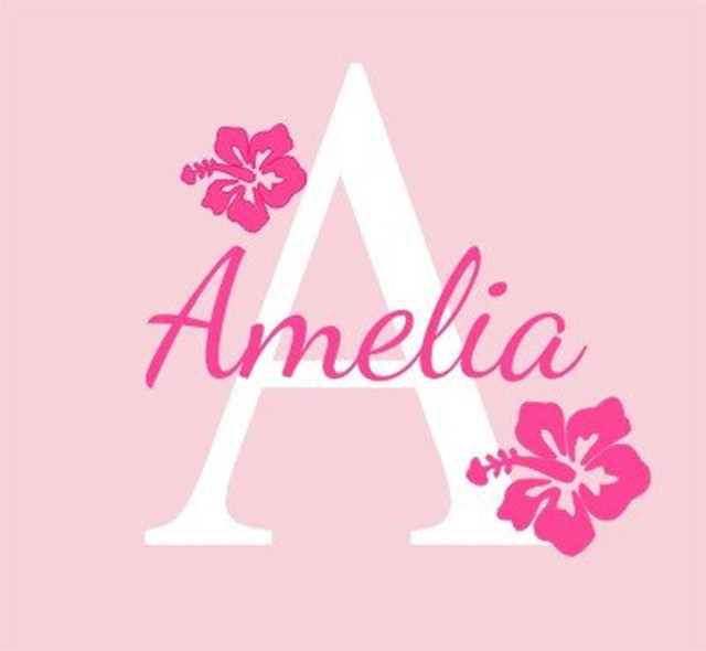 Customized Name Wall Decal for Baby Room