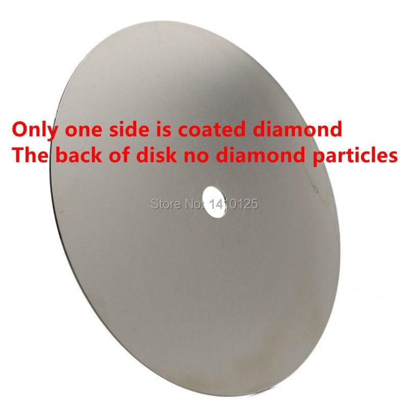 """Grit 150 Diamond Coated 6/"""" Inch Flat Lap roue lapidaire Affûtage Disque à polir T"""